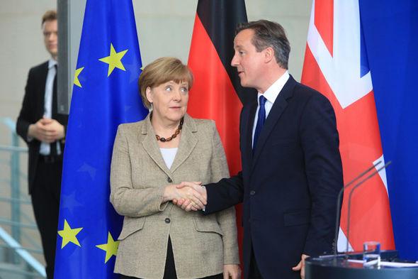 David Cameron está tratando de impulsar es planes de renegociación