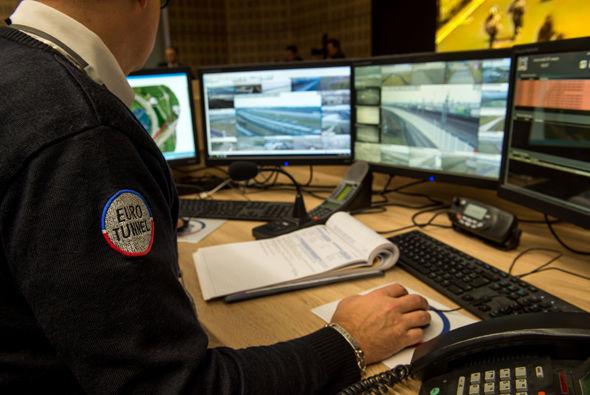 Eurotunnel staff