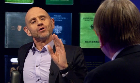 Evan Davis questions Guy Verhofstadt