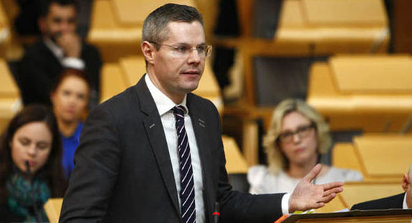 Finance Secretary Derek Mackay budget