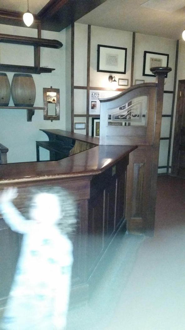 """La imagen del """"fantasma"""""""