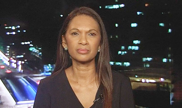 Gina Miller spoke to Newsnight presenter Evan Davis from Brussels
