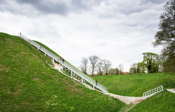 HILL STAIRS