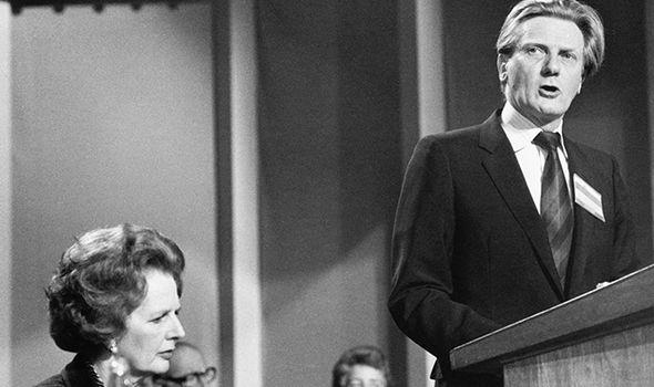 Heseltine served as Defence Secretary under Margaret Thatcher