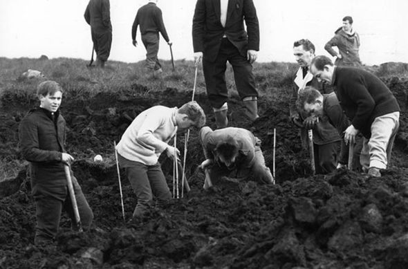 Digging in the moors