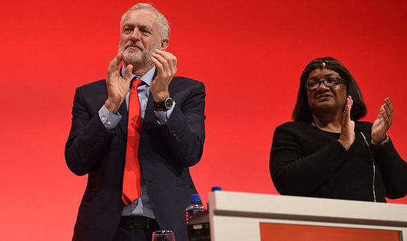 Jeremy Corbyn and Diane Abbott