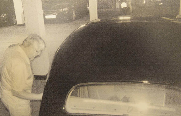 John Saunders caught on CCTV