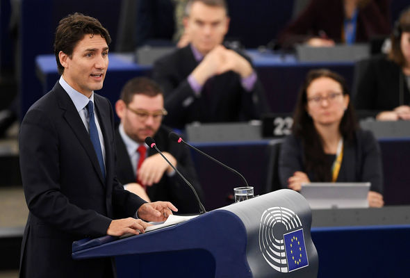 Justin Trudeau has reinforced the optimism of Brexiteers