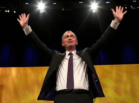 Liberal Democrat leader Tim Farron