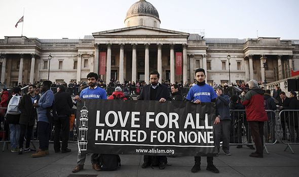 London attack vigil