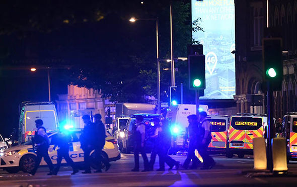 London Bridge terror attack: Police officers