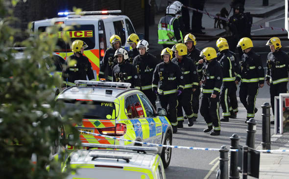 London tube explosion Parsons Green