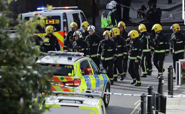 London tube explosion Parsons Green