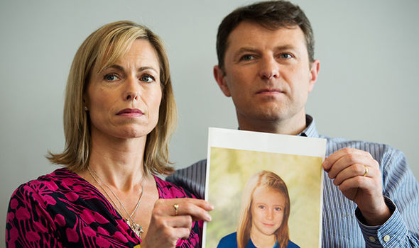 Madeleine McCann reveal toddler missing
