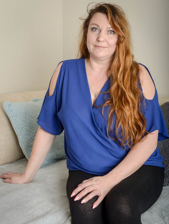 Marina Adams was raped twice at her home