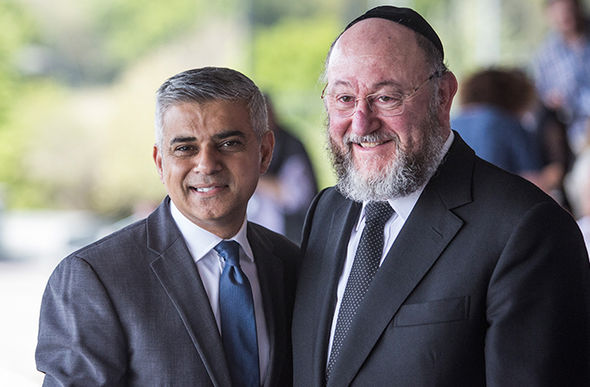 Mayor of London Sadiq Khan jewish remembrance