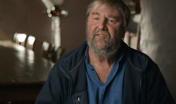 Mike Parker Pearson during the recent BBC documentary