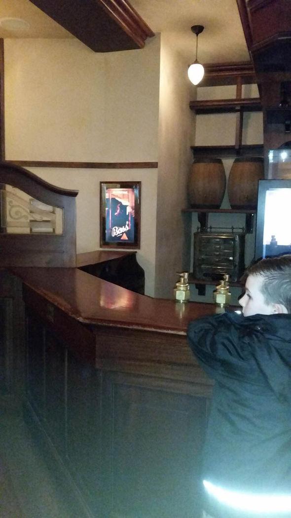Owen en el museo
