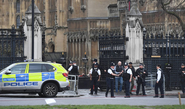 Gunfire at Westminster