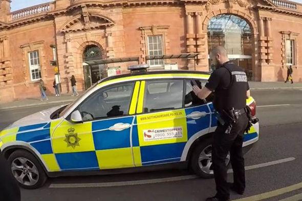 Ricky Slade gets arrested