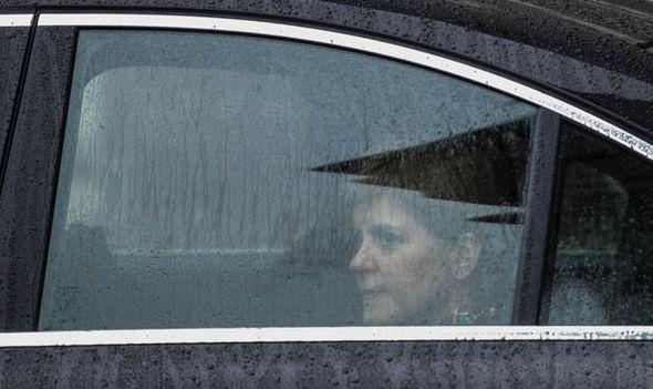 Nicola Sturgeon in a car