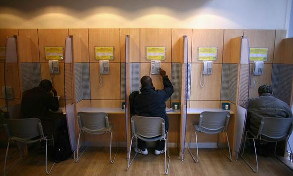 A Scottish job centre