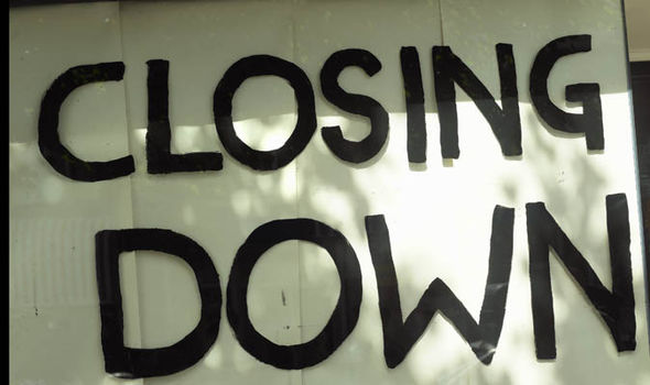 Shop closures