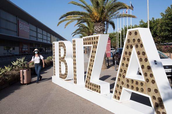 Ibiza arrivals terminal