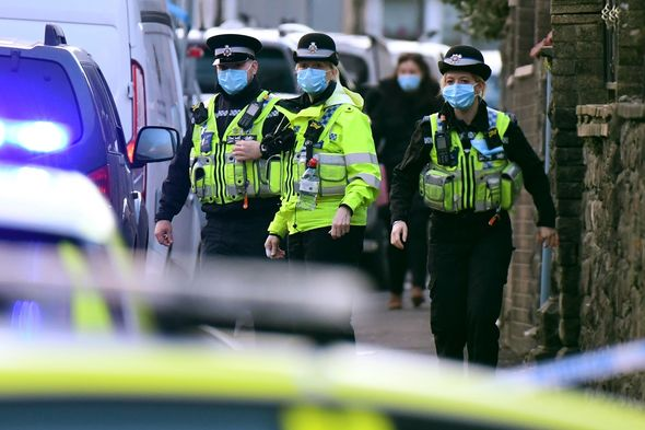 Stock image of Wales Police attending incident