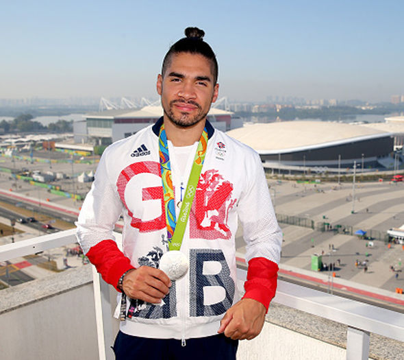 Stone also represented Louis Smith and Nicola Adams