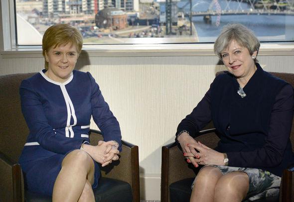 Nicola Sturgeon meets Theresa May
