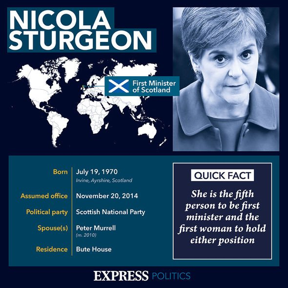 Sturgeon profile: She took over as Scottish First Minister following the failed 2014 referendum