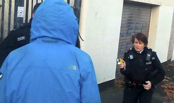 Police taser