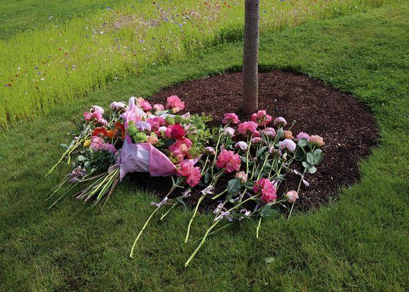 The Blossom Memorial Garden in east London