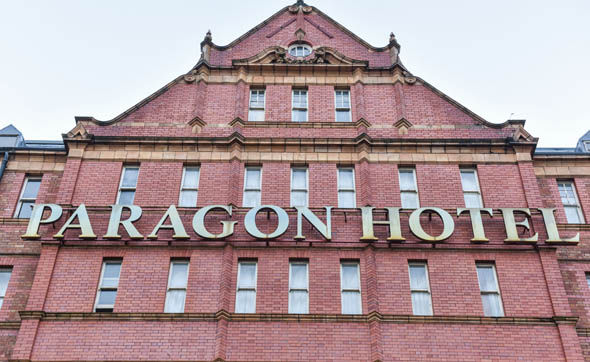 The Paragon Hotel is used by asylum seekers