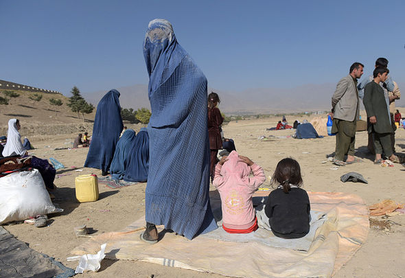 When the Taliban took Afghanistan over by forced women to wear the all-covering burka and banned music