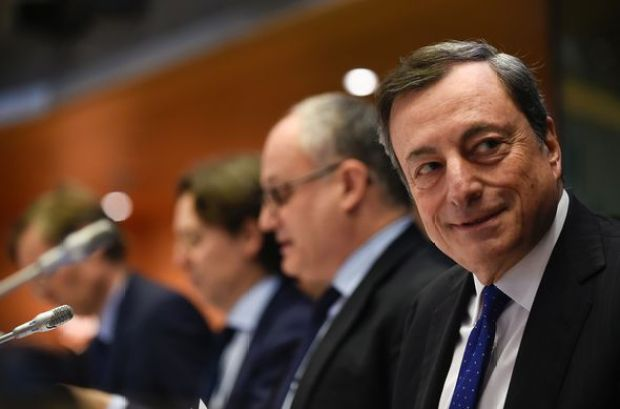 Mario Draghi is facing serious pressure as the fears over Euro collapse grow