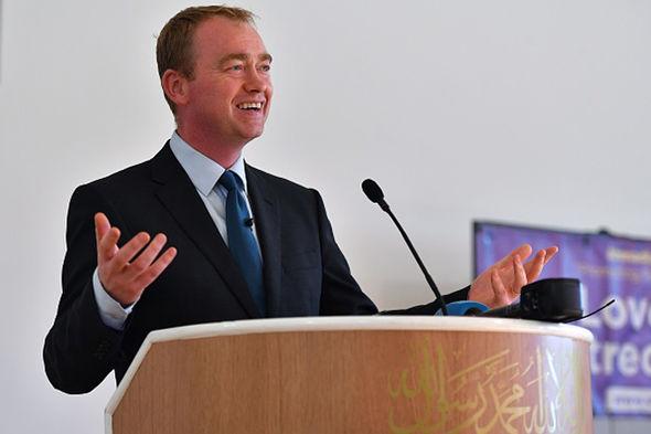 UK Lib Dem leader Tim Farron said Lid Dems will not make any coalition deals