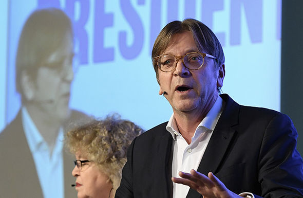 Verhofstadt previously said Donald Trump is a threat to the EU