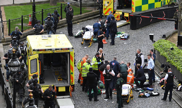 Attacker in Westminster