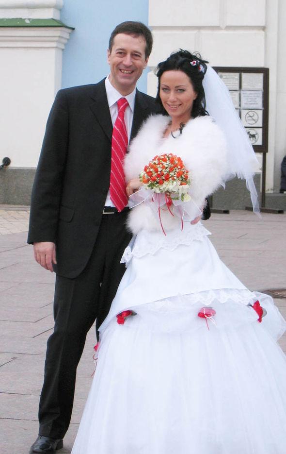 Barry Pring and Ganna Ziuzina