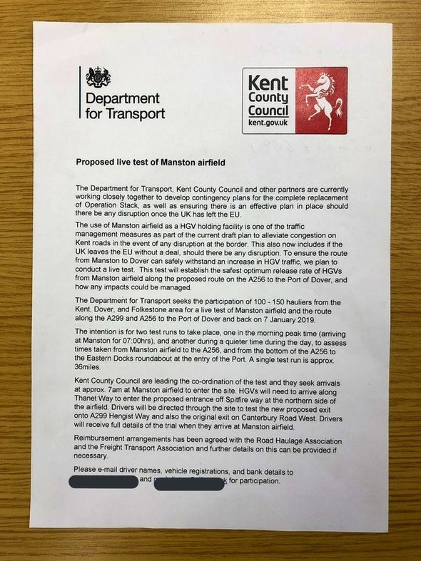 Government letter