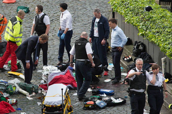 London terror attack: Tobias Ellwood after giving mouth-to-mouth