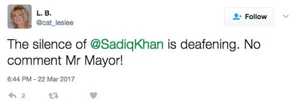One Twitter user branded Mr Khan's