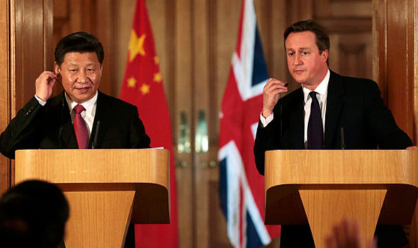 President Xi and David Cameron