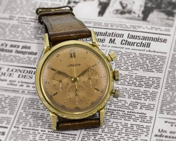 sir winston churchill gold watch auction