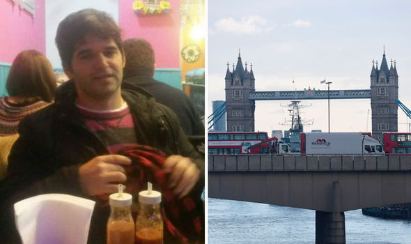 Ignacio Echeverria and London Bridge