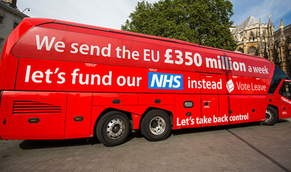 Brexit: Vote Leave bus
