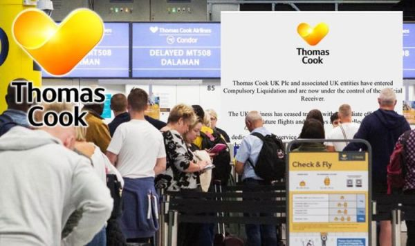 Thomas Cook cris LIVE updates: 600,000 tourists in travel hell after iconic firm collapses