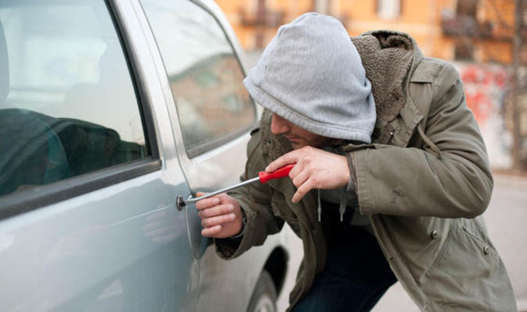 Car theft EPIDEMIC as just 1 in 50 cases could face prosecution